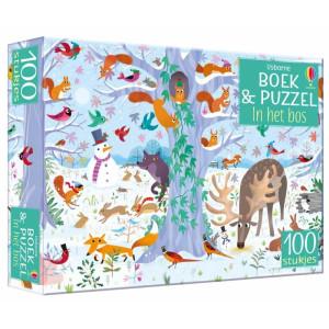 Boek & puzzel, In het bos