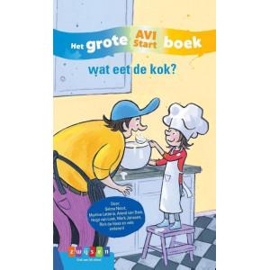 Het grote Avi boek, Wat eet de kok?