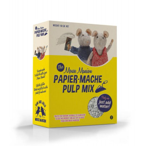 Papier mache pulp