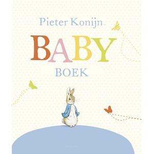 Pieter konijn babyboek