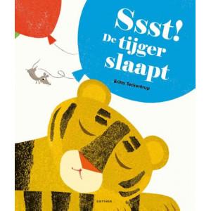 Sssst de tijger slaapt, kartonboek