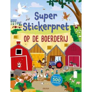 Super stickerpret, Op de boerderij