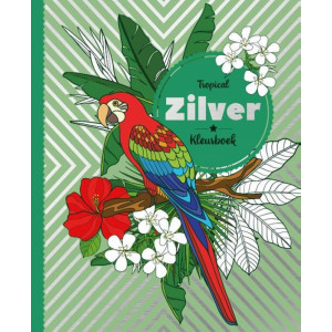 Zilverfolie kleurboek,