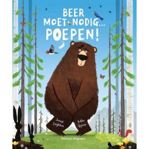 Beer moet nodig...... poepen!