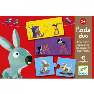 Djeco, Duo puzzel tegenstellingen