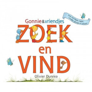 Gonnie & vriendjes Zoek en vind boek