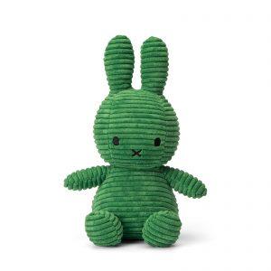 Nijntje corduroy knuffel groen